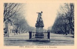 VAR 83 BARJOLS MONUMENT MARTIN BIDOURÉ SCULPTEUR RECUBERT PLACE DE LA ROUGUIERE - Barjols