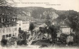 VAR 83 BARJOLS FABRIQUE DE PAPIERS ROCHERS DE CASTELLAS - Barjols