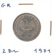 2 Drachme Grèce / Greece 1971 UNC - Grèce