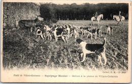 02 VILLERS COTTERETS - Chasse à Courre - équipage - Villers Cotterets