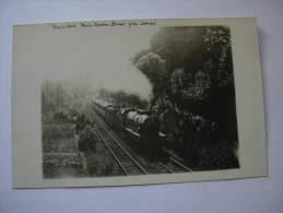 TRAIN 505  PARIS REDON BREST PRES DE SEVRES - Eisenbahnen