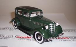 Scale metal modell auto, die cast car, 1:43 GAZ 11-73. 1941. USSR Russia (2510)