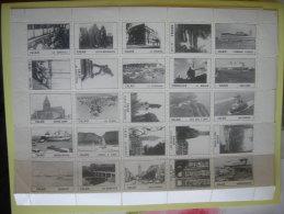Bloc Planche De 25 Vignettes Neuves Sur Calais Ardres Coquelles - Ohne Zuordnung