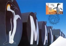 Australian Antarctic 2002 Mawson Station Maximum Card - Maximumkarten