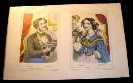 IMAGERIE PELLERIN  - D' EPINAL : N°   3. LEOPOLD - CLEMENTINE - Vieux Papiers