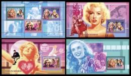 GUINEA 2006 - Marilyn Monroe I - Mi 4317-9 + B1008-10, YT 2691-3 + BF325-7 - Film