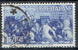 ITALY # STAMPS FROM YEAR 1946  STANLEY GIBBONS  685 - 1946-60: Used