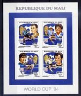 Mali Série Complète Surchargée Feuillet Collectif ND/imperf/B CM 94 ** - World Cup