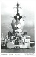 """CP PHOTO: """" DUQUESNE """" - FREGATE  D 603   - 16-1-1971  (  -  BATEAU DE GUERRE ) - Oorlog"""