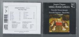CD - Josquin Desprez - Missa Pange Lingua - Ensembles Clément Janequin & Organum - Marcel Pérès - Religion & Gospel