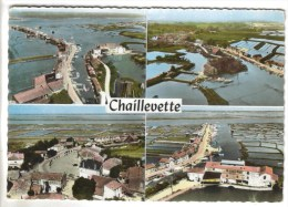 CPSM CHAILLEVETTE (Charente Maritime) - 4 Vues - France
