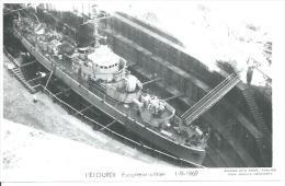 """CP PHOTO: """" L'ETOURDI """" - ESCORTEUR-COTIER  - 1-9-1969   (  -  BATEAU DE GUERRE ) - Warships"""