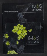 UNITED KINGDOM  - GIFT CARD  FOR COLLECTION - (  M & S  ) 1996 CARD - Gift Cards