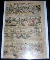 IMAGERIES REUNIES DE JARVILLE-NANCY. 1005. LE RENTIER ET LA TRUITE - Old Paper