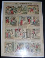 IMAGERIES REUNIES DE JARVILLE-NANCY. 1019. ETULA, LE CHIEN QUI PARLE - Old Paper