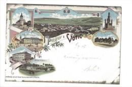 10713 - Pozdrav Z Votic Litho 1899 - Tchéquie