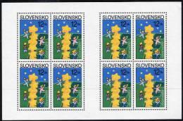 SLOVAKIA 2000 Europa Sheetlet MNH / **.  Michel 368x - Blocks & Sheetlets