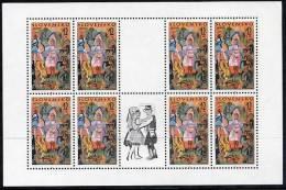SLOVAKIA 1998 Europa: National Festivals Sheetlet MNH / **.  Michel 309 - Blocks & Sheetlets