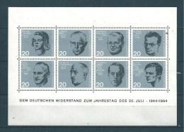 Allemagne  Fédérale  Bloc  N°2   De 1964    Neuf - BRD