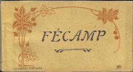 CARNET Incomplet De 21 Cartes Postales Anciennes De FECAMP (Lévy Et Neurdein). - Fécamp