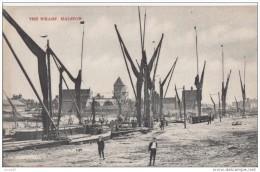 POSTCARD 1920 CA. HALSTOW, THE WHARF - England