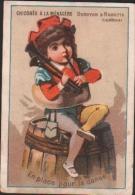 Chromo Chocolat DUROYON - Chicorée à La Ménagère - Enfant Jouant De La Cornemuse - En Place Pour La Danse - Duroyon & Ramette