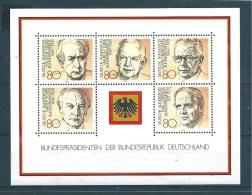Allemagne  Fédérale  Bloc  N°17   De 1982  Neuf - BRD