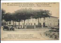 CPA 94 - LA VARENNE SAINT HILAIRE -CAFE HOTEL RESTAURANT MARTIN PECHEUR- JO NEUMANN - France