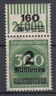 Deutsches Reich - Mi. 310 OPD G F W OR Leipzig ** - Neufs