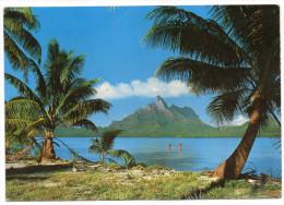 Polynésie Française--BORA-BORA---La Montagne Vue D'un Ilôt (petite Animation),cpm N°278 éd Erwin Christian - Polynésie Française