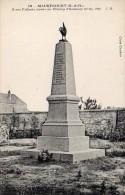 CPA MAURECOURT - A NOS ENFANTS MORTS AU CHAMP D'HONNEUR - Maurecourt