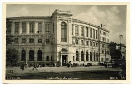 Riga, Pasts Telegrafs Galvenais, Postamt, Telegrafenamt, Post - Litauen