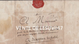 "Marque Postale Hérault "" Gignac "", 1792 . - Marcophilie (Lettres)"