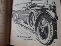 RARE GUIDE MICHELIN ROUGE 1922 PROPRE COMPLET - Michelin (guides)