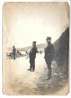 Photographie De Manoeuvres Militaires France 1904  (Capitaine Louis Edmond GRANGE à Droite) - Documents