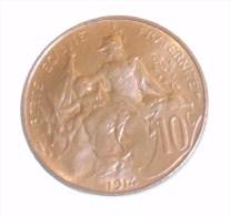 Superbe 10 Centimes Dupuis 1914 - France