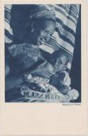 Cpa,afrique Occidentale,femme Allaitant,par La Compagny De Navigation Cyprien Fabre Et Fraissinet - Sénégal