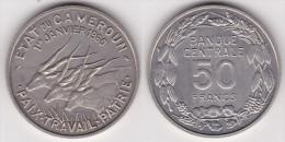 CAMEROUN : ESSAI - 50 FRANCS 1960 FDC (voir Scan) - Colonies