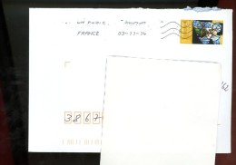 2014 11 03 Oblitération Ratée Sur Ange Musicien - France