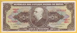BRESIL - Billets De 5 Cruzeiros. Pick: 176d. NEUF - Brazil