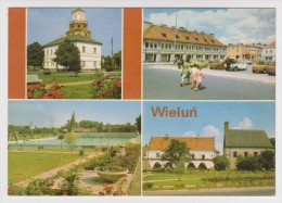 POLOGNE - WIELUN - MULTIVUES - 2 Scans - - Polonia