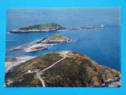 Cpsm 22 PLOUEZEC Pointe De Bilfot Les Iles Et Le Phare D Ost-Pic - France