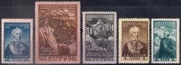 Russia 1950, Michel Nr 1465-69, MLH OG - Unused Stamps