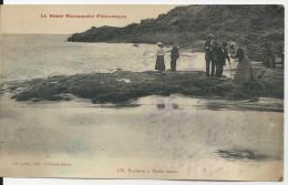 LA BASSE NORMANDIE PITTORESQUE ROCHERS A MAREE BASE  CPA BE EDITEUR LE OUBEY SAINT PIERRE EGLISE - Basse-Normandie