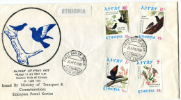 ETHIOPIA 1993 FDC With ENDEMIC BIRDS. - Ethiopie