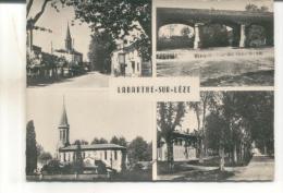Labarthe Sur Leze, La Rue Principale, Le Pont, L'église, La Place - Francia