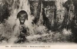 SCENES ET TYPES - RIATIA SOUS LA DOUCHE - BELLE CARTE -  TOP !!! - Marruecos