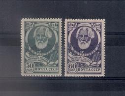 Russia 1943, Michel Nr 883-84, MLH OG - 1923-1991 USSR