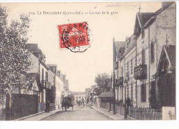 24219 LE POULIGUEN - LA RUE DE LA GARE  - 719 Artaud Nozais