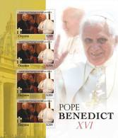 GUYANA  4018   0914 MINT N.H. STAMPS OF POPE BENEDICT XVI  #  27-3 M  ( - Pausen